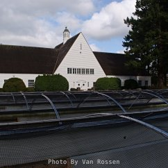 Historic Hatchery building at the Bonneville Fish Hatcher.