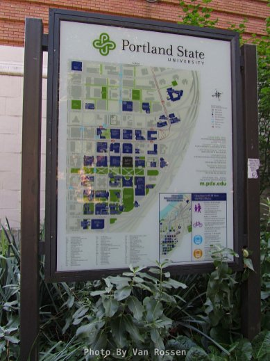 You can find maps of the PSU campus at several locations.