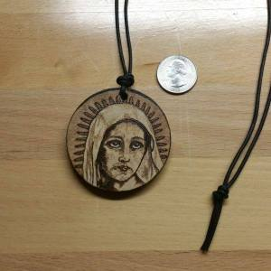 Blessed Virgin Pendant - 2016