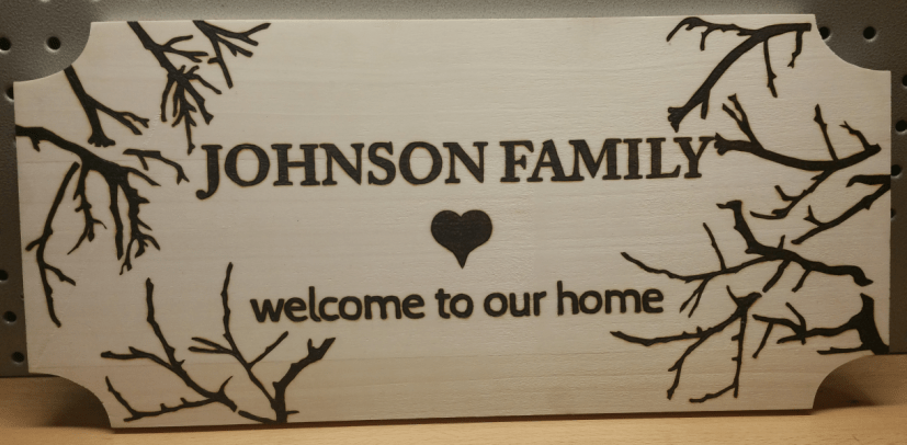 House Warming Sign - 2016