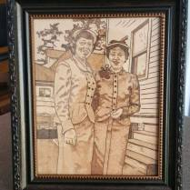 Historical Reproduction - Mom-and-Elaine