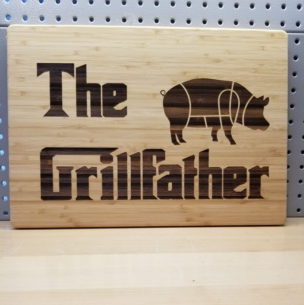 The Grillfather Cutting Board