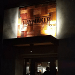Haymaker Sign Installed