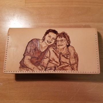 Wife and Grandma Wallet - 2020