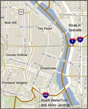 Portlland Condos Neighborhood search of condos in Portland