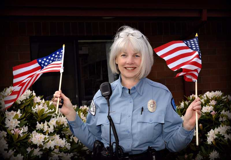 COURTESY PHOTO - Teresa Kohl started work with the Forest Grove Police Department in 2008, when she was looking for a mission that would give her life purpose again after her daughters murder two years earlier.