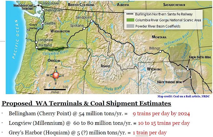 Planned Coal Export Facilities