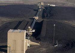 Boardman coal field