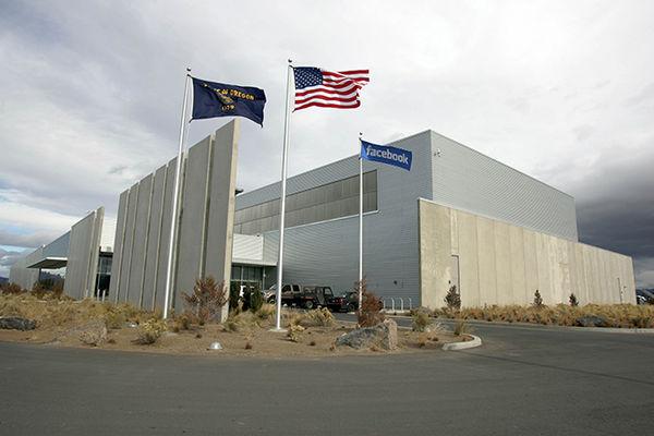 Facebook's data center in Prineville