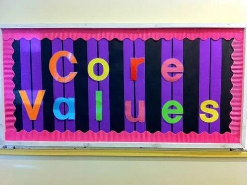 values photo