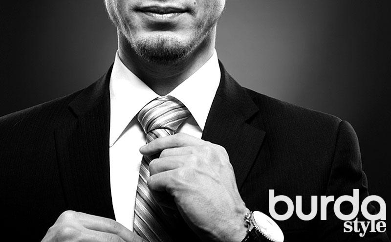 Стандартный мужской галстук