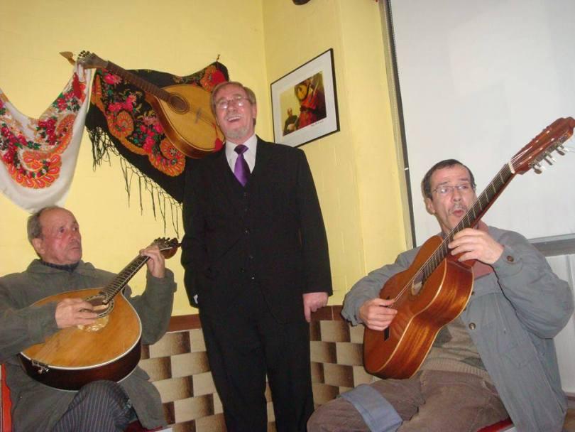 Chanteur de fado - Restaurant O Boteko - Porto