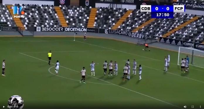 Samba Koné põem o FC Porto B em vantagem