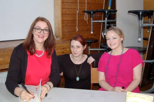 Catherine Simpson, Lynsey May, Lucy Ribchester
