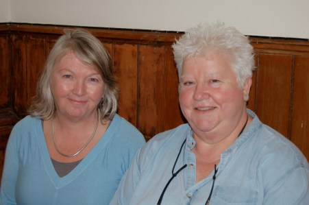 Jane Meagher and Val McDermid