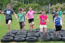 Tyre obstacle
