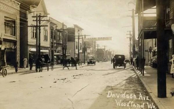 Woodland historic photo