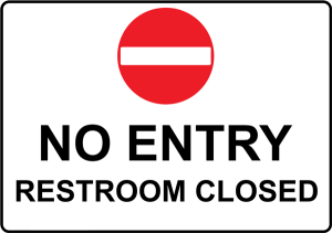 Restroom Closed