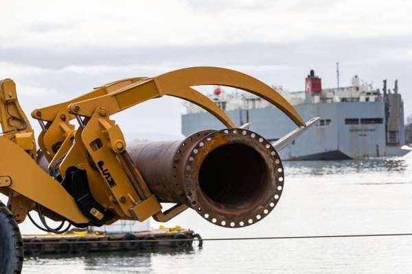 Austin Point dredging project 2019