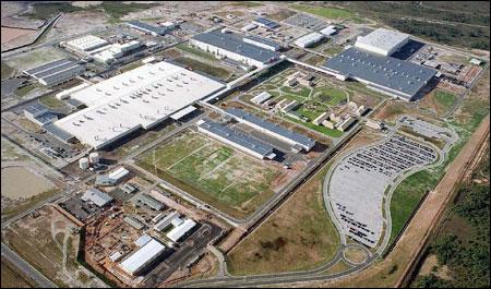 Mega-fábrica da Ford em Camaçari, BA
