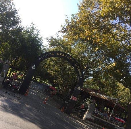 بوابة حدائق فلوريا أتاتورك florya atatürk ormanı