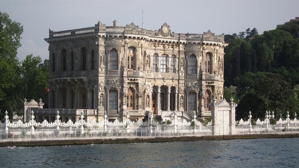 Küçüksu Palace, Turkey, Istanbul, Historical Sites