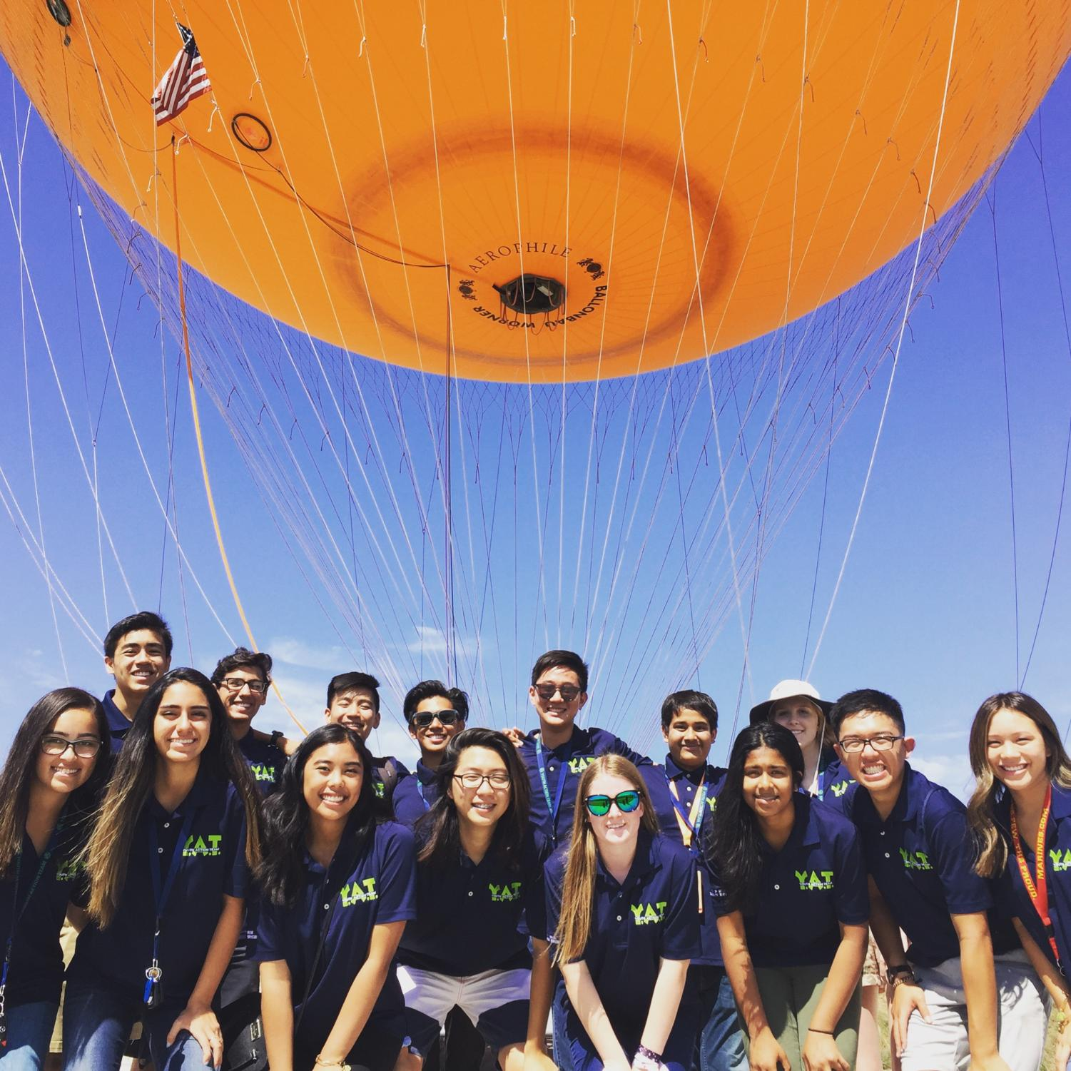 YAT officers in Irvine work hard to organize many different events available to students throughout the school year.