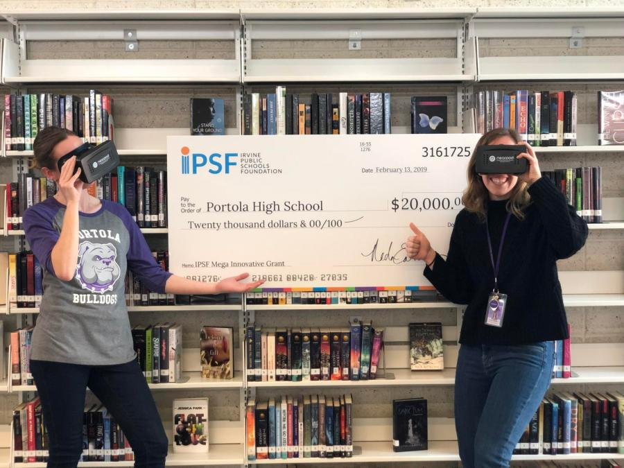 Cramer and Waldner plan on using the grant money to purchase virtual reality equipment in order to support learning in various classes.