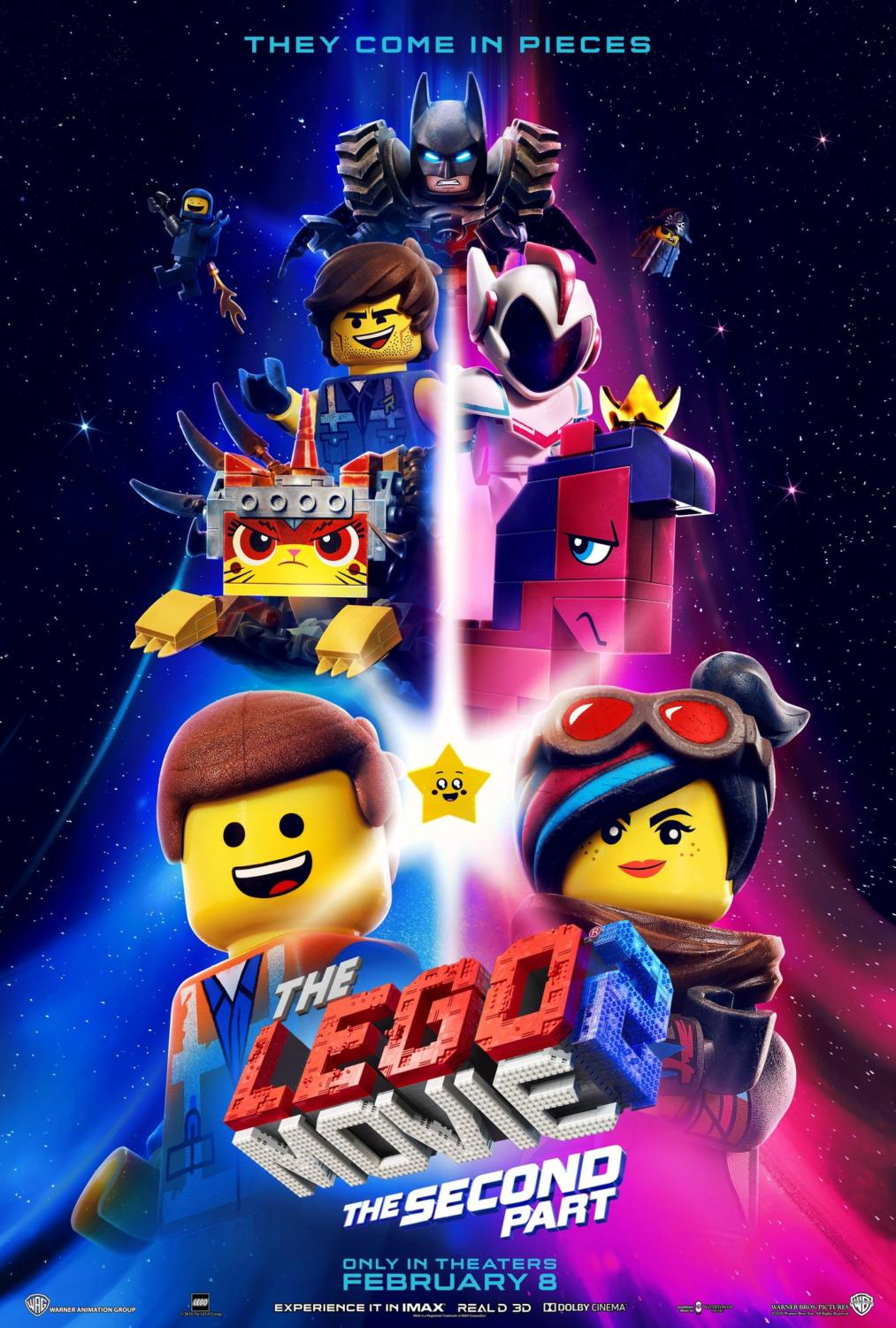 """The cast of the first Lego Movie reprised their roles for """"Lego Movie 2: The Second Part,"""" along with a slew of new characters."""