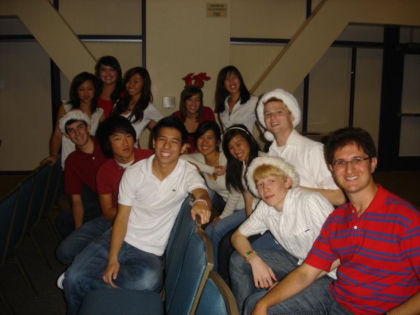 Choir+and+tech+theater+teacher%2C+Adrian+Rangel-Sanchez%2C++helped+to+create+the+Footnotes%2C+University+High%E2%80%99s+first+a+cappella+group%2C+when+he+was+a+junior+almost+10+years+ago.
