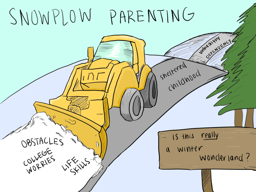 'Snowplow Parenting' Leads to Avalanche of Negative Consequences
