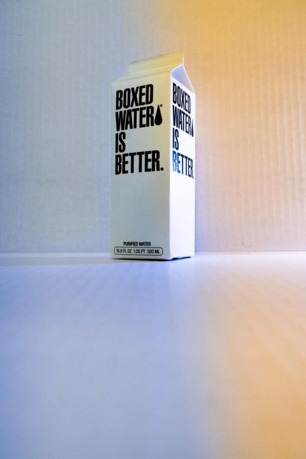 Novel rectangular carton makes its bold appearance in the cafeteria aisles.