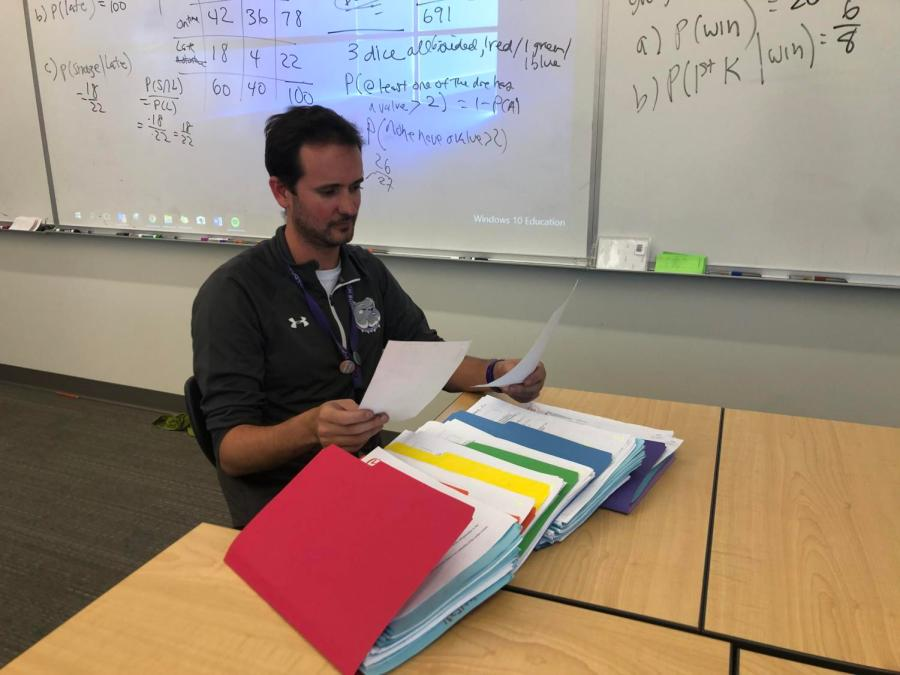 As a solution to the academic honesty problemon campus, some teachers have created multiple forms of exams for their students. Math teacher Eric Graham created nine different versions of his AP Statistics midterm in order to prevent students from cheating.