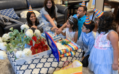 Junior Zarah Taufique celebrates her sister's birthday with her extended family during the quarantine. While it may seem at times that the world has come to a halt, students are still finding safe ways to have fun with their family and friends.