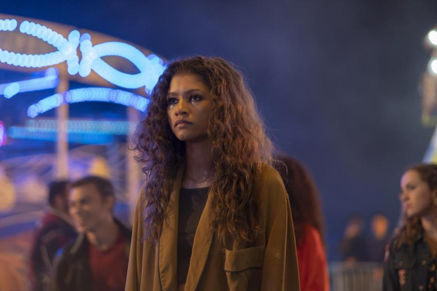 """Zendaya Coleman makes history with her Emmy Award for her role as Rue Bennett in HBO drama series """"Euphoria,"""