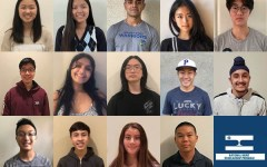 Seniors Faith Kim, Miachanel Nguyen, Parth Shisode, Rachel Yang, Noah Kim, Joon Choi, Raksha Rajeshmohan, Mint Tan, Luke Shen, Saihajveer Gulati, Matthew Wong, Wesley Tjangnaka, Ashley Presnell and Brendon Mye are among the top 1% of PSAT/NSMQT scorers (not pictured are Paul Morenkov, Ethan Hung and Jonathan Notarangelo).