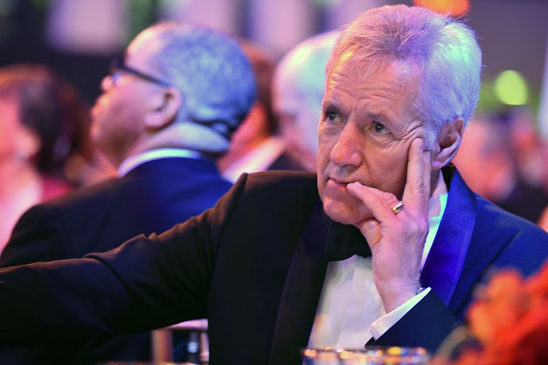 """Over his """"Jeopardy!"""" career, Alex Trebek hosted more than 8,000 episodes, setting the record for most shows hosted, and won seven Emmy awards as well as a Lifetime Achievement Award from the National Academy of Television Arts and Sciences, according to Jeopardy.com."""