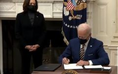 President Joe Biden and Vice President Kamala Harris signed two Economic Relief Bills for the COVID-19 pandemic on Jan. 22. The bill was signed in an attempt to extend unemployment benefits as well as raise the minimum wage for federal workers to $15, according to CNN.