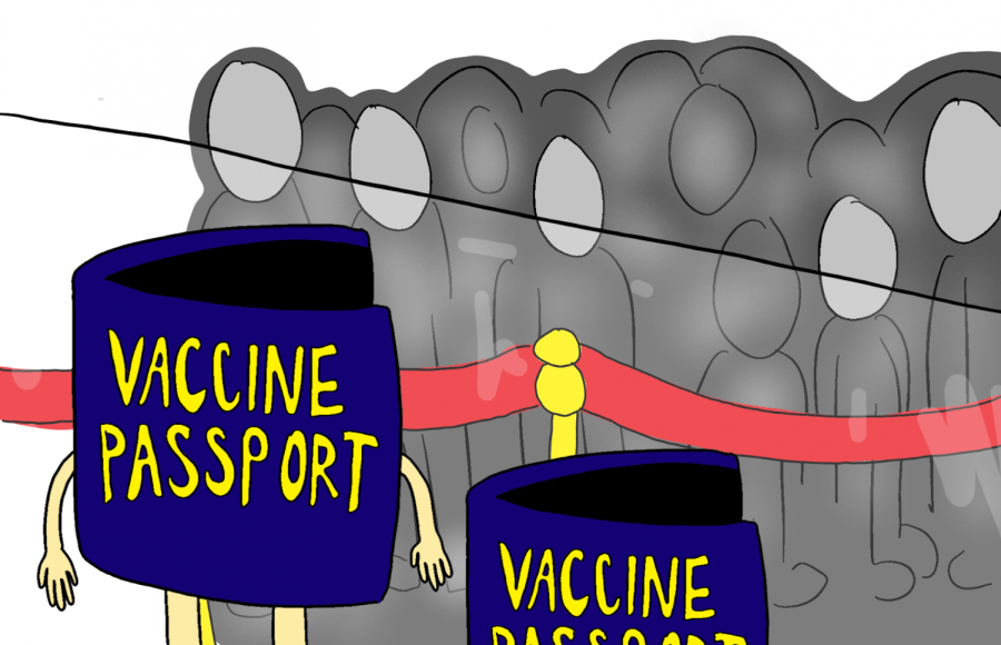 If implemented, vaccine passports will violate privacy rights and make it harder for people to travel because of low vaccine availability in the country.