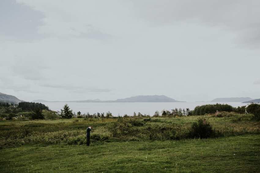 lummi island view puget sound