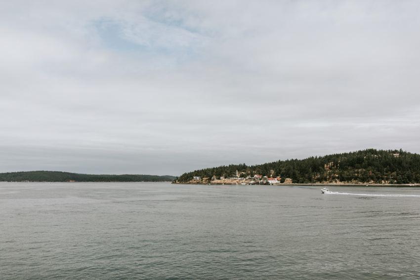 orcas island ferry dock town