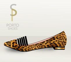 Bailarina estampado leopardo