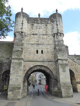 One of the gatehouses in the York city wall