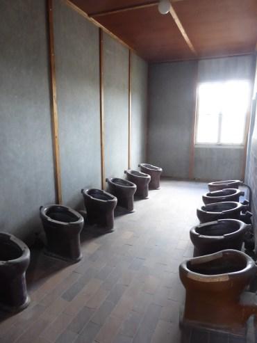 Prisoners' latrines