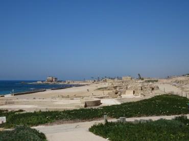 Beautiful views of ancient Caesarea
