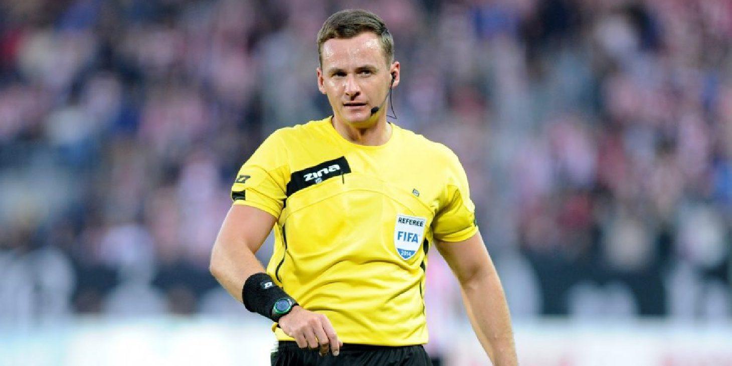Paweł Raczkowski arbitrem meczu z Wisłą Kraków