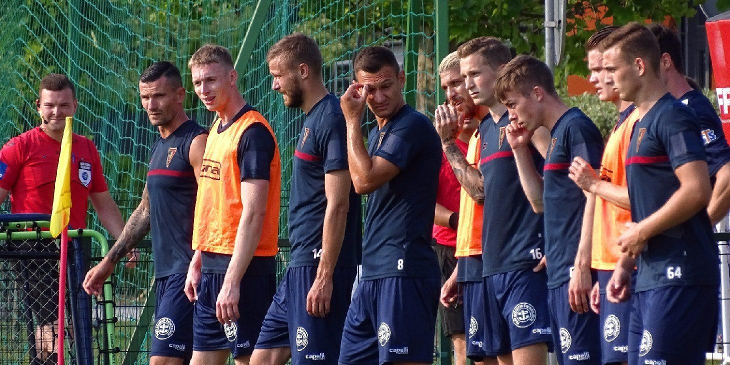 Fotorelacja: Mecz sparingowy Pogoń Szczecin - Zagłębie Lubin