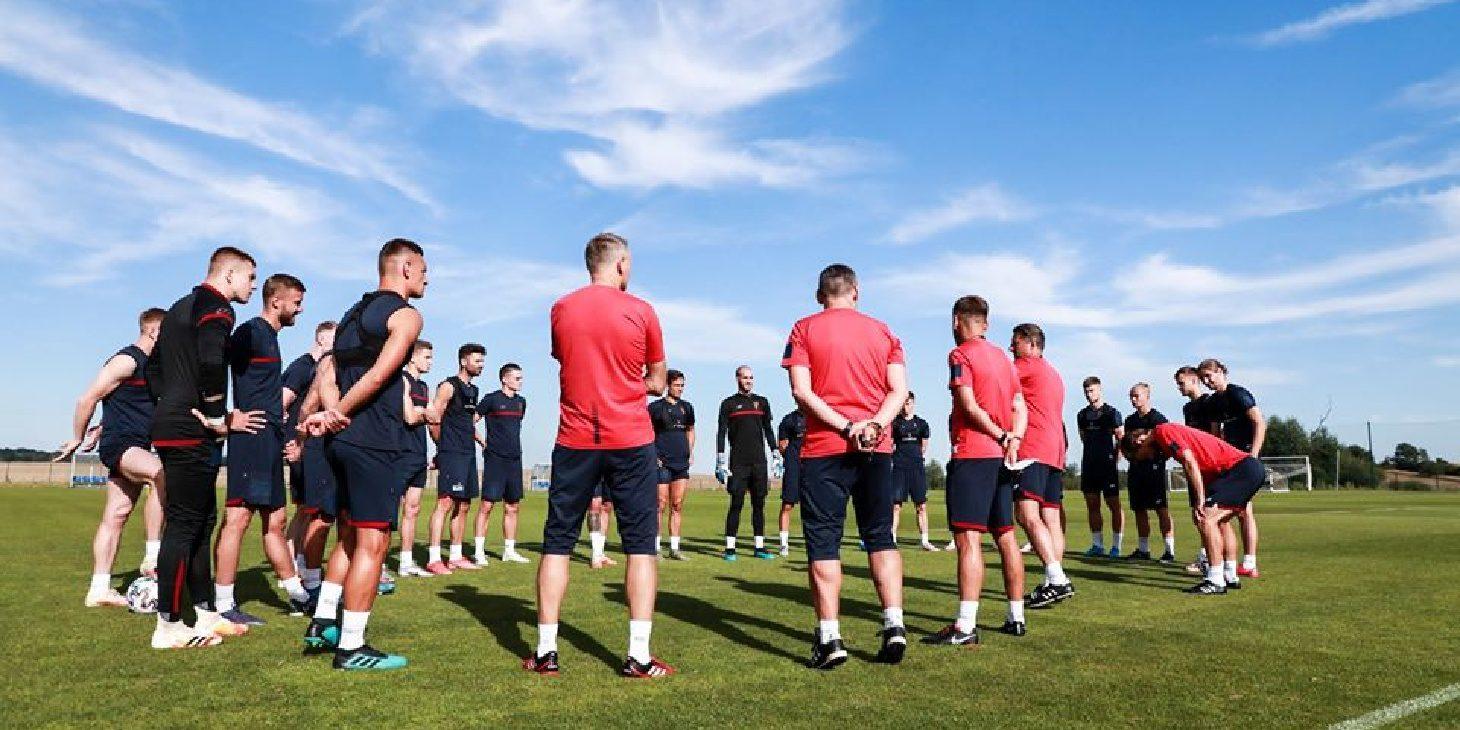 Trening grupowy już za Portowcami.