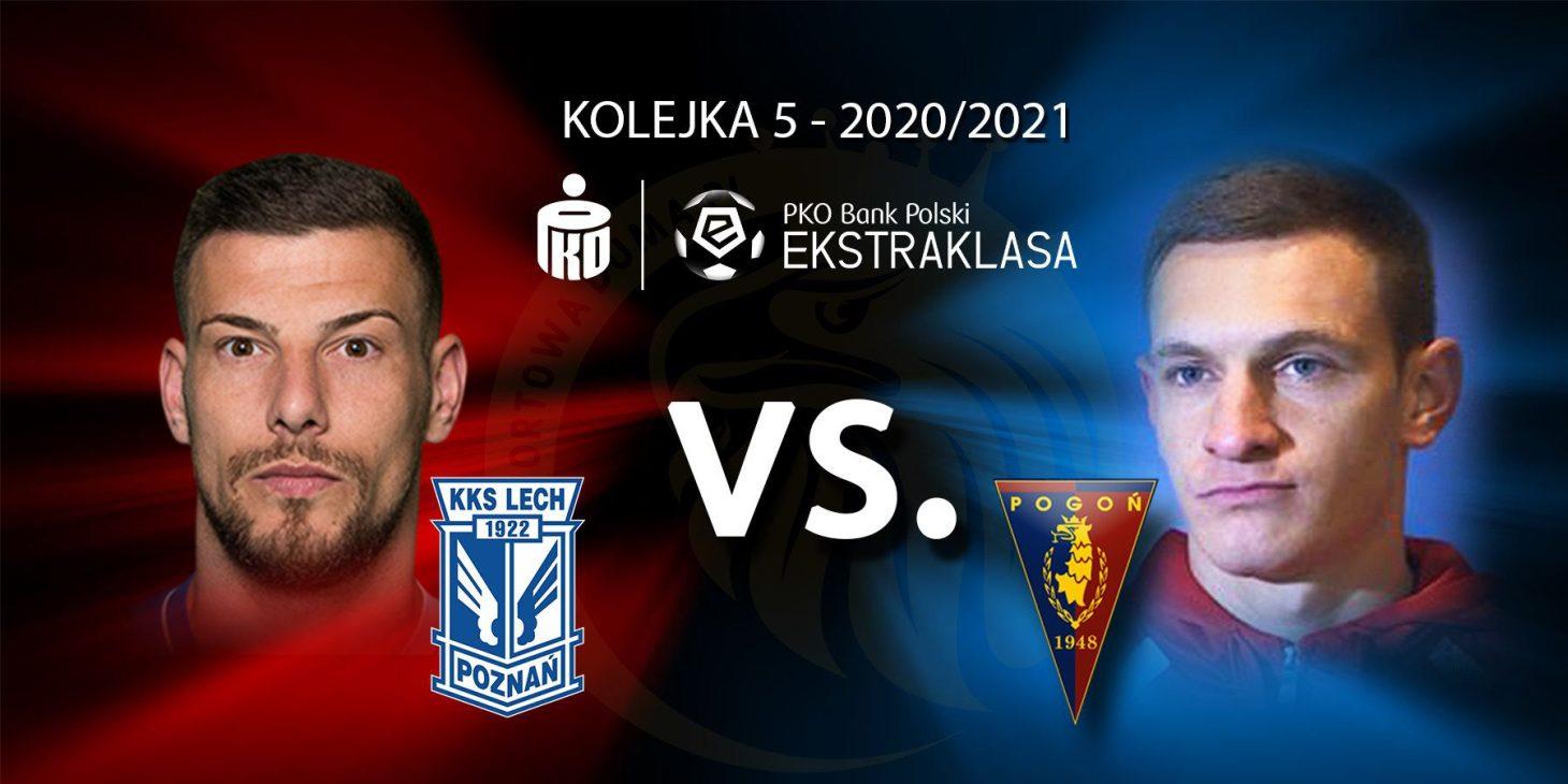 Lech Poznań - Pogoń Szczecin. Pojedynek meczu: Pedro Tiba vs Damian Dąbrowski.