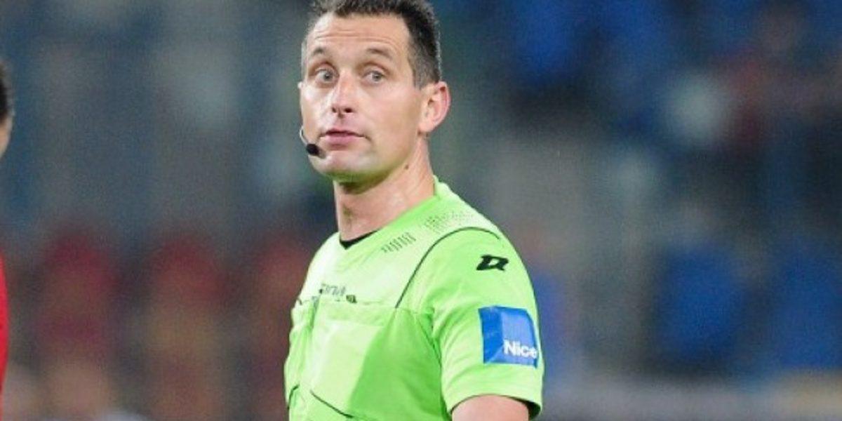 Dominik Sulikowski arbitrem meczu z Wartą Poznań